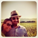 Us in Napa
